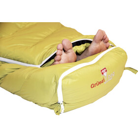 Grüezi-Bag Biopod DownWool Sac de couchage Enfant, citron